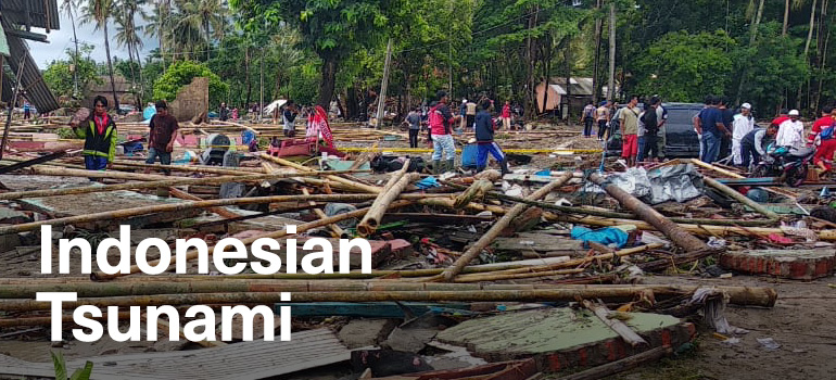 Indonesia Earthquake & Tsunami Appeal