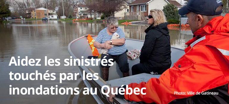 Inondations qu bec chambre de commerce de gatineau otg don for Chambre de commerce tuniso canadienne